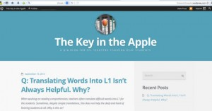 http://thekeyintheapple.wordpress.com/