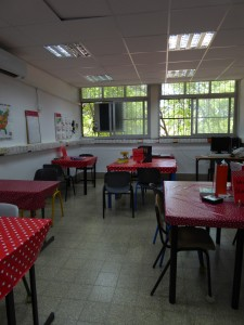 The French cafe classroom